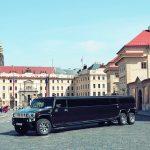 Limuzína Hummer H200 Taxi Letiště Praha