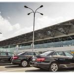 Limuzína Mercedes ve třídě E Taxi Letiště Praha