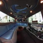 Limuzína Ford Excursion Taxi Letiště Praha